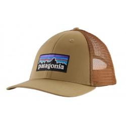 Casquette Patagonia P-6 LOGO LOPRO TRUCKER HAT classic tan