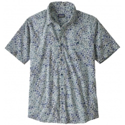 Chemise Patagonia MEN'S GO TO SHIRT pigeon blue