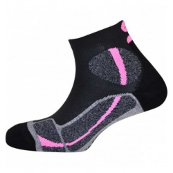 Chaussettes Monnet TRAIL FORCE Grey Pink