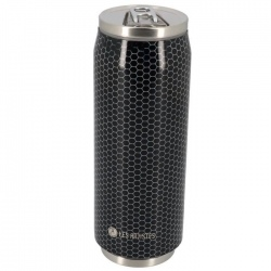 Canette isotherme Les Artistes PULL CAN'IT 500ML Metal texture brillant