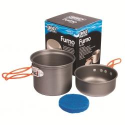 Set de casseroles 360° FURNO 350 + 850 ML