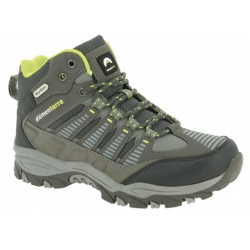 Chaussures de randonnée Elementerre GHANZI gris/vert