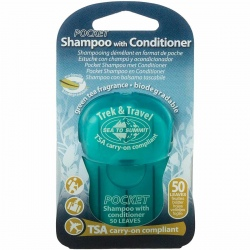 Shampoing en feuilles Sea to Summit POCKET SHAMPOO