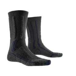 Chaussettes X socks Trek X MERINO Lad vio / grey