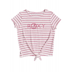 T-shirt Roxy SOME LOVE snow white funny stripes