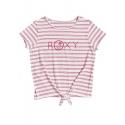 T-shirt Roxy SOME LOVE snow white funny stripes