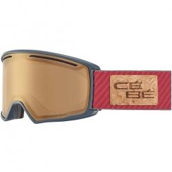 Goggles Cébé CORE M mat grey burgundy nxt variochrome perfo a cat. 1-3