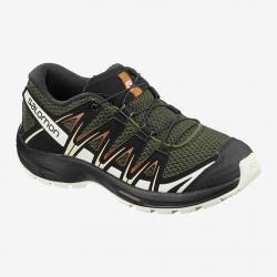 Hiking shoes Salomon XA PRO 3D J Grape Leaf/Vanila/Cara