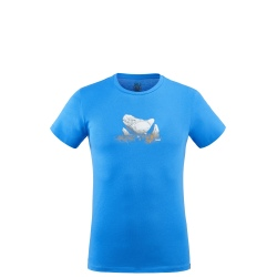 Tee-shirt Millet BOULDER DREAM TS SS Electric blue
