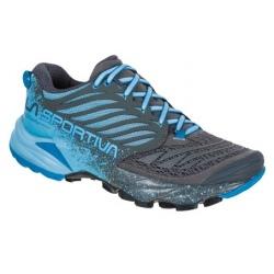 Chaussures de trail La Sportiva AKASHA W Carbon/Pacific blue