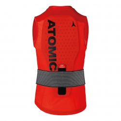 Atomic LIVE SHIELD Back protector Vest M Red