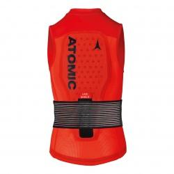 Atomic LIVE SHIELD Vest JR Red Back protector