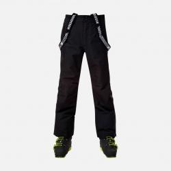 Pantalon de ski Rossignol BOY ZIP PANT Black