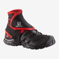 Guêtres de trail Salomon HIGH Black