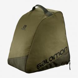 Ski bag Salomon ORIGINAL BOOTBAG Martini Olive/Black