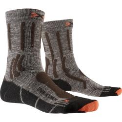 Chaussettes X-Socks TREK X LINEN Suede Melange/X-orange/Black