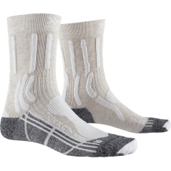 Chaussettes X-Socks TREK X CTN Lady Sand beige/Arctic white