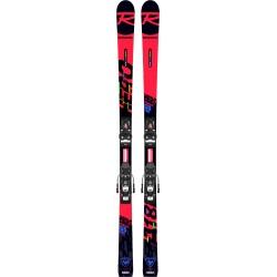 Pack de skis Rossignol HERO ATHLETE GS PRO (R21 PRO) + fixations  SPX 10 GW B73 Black / Icon