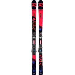 Pack de skis Rossignol HERO ATHLETE GS PRO (R21 PRO) + fixations NX 10 GW B73 Black / Icon