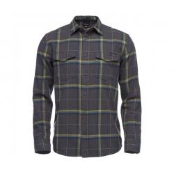 Shirt Black Diamond VALLEY LS FLANNEL SHIRT Carbon Astral Blue Plaid