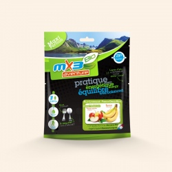 Compote lyophilisée MX3 Compote Pomme-Banane Bio