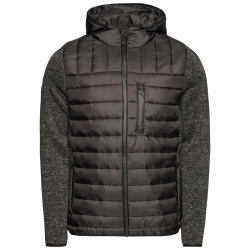 Superdry STORM HYBRID ZIPHOOD Jacket Black