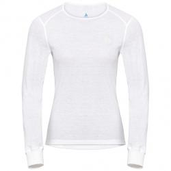 T-shirt technique Odlo ML ACTIVE WARM White