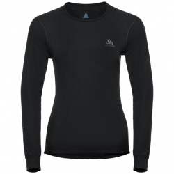 Technical T-shirt Odlo ML ACTIVE WARM Black