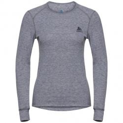 Technical t-shirt Odlo ML ACTIVE WARM Grey Melange