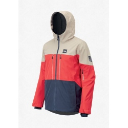 Jacket Picture OBJECT Red Dark Blue