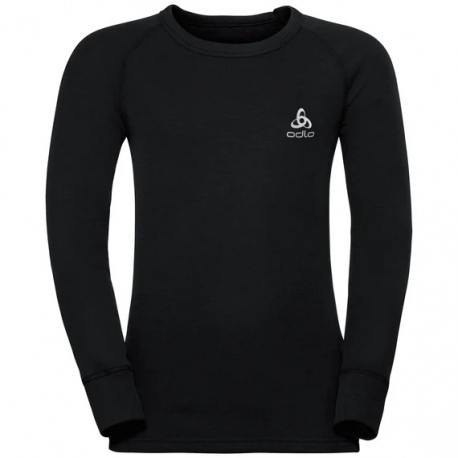 T-shirt technique Odlo ML ACTIVE WARM Black