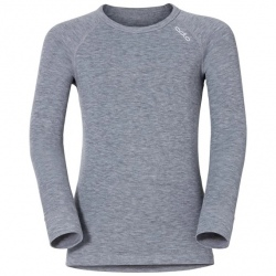 T-shirt technique Odlo ML ACTIVE WARM Grey Melange