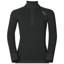 Technical top ½ zip with stand-up collar Odlo ACTIVE WARM Black
