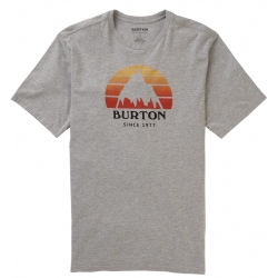 Tee-shirt Burton UNDERHILL SS Gray Heather