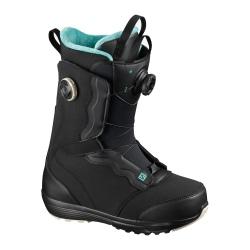 Boots Salomon IVY BOA SJ BOA Black / Black / Meadowbrook