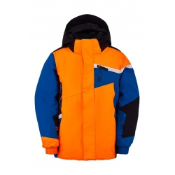 Spyder CHALLENGER Bryte Orange/Old Glory Jacket