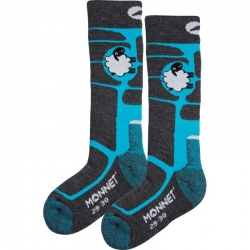 Monnet knee highs WOOLY Blue
