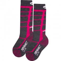 Monnet knee highs WOOLY JUNIOR Pink