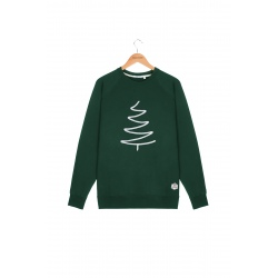 Sweat French Disorder CLYDE SAPIN Forest Green