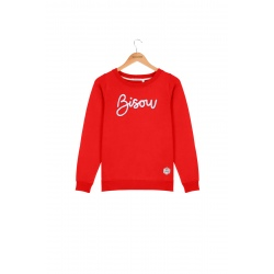 Sweat French Disorder MARLON BISOU Red