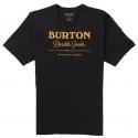 Tee-shirt Burton DURABLE GOODS SS True black
