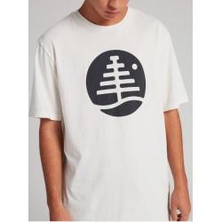 Tee-shirt Burton FAMILY TREE SS Stout White