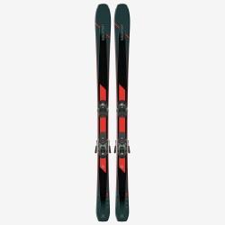 Pack de skis d'occasion Salomon T XDR 88 Ti + fixations WARDEN MNC 13 DEMO