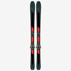 Pack of used skis Salomon T XDR 88 Ti + bindings WARDEN MNC 13 DEMO