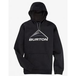 Burton M OAK SSNL PO True black heather sweatshirt