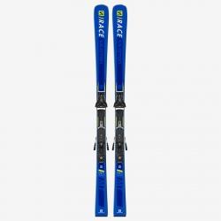 Pack de skis d'occasion Salomon E S/RACE MT + fixations Z10 GW L80 Bl/YE