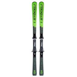 Pack de skis Stöckli Laser Sx + MC 12 Black Fullflex