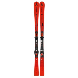 Pack of used skis Atomic REDSTER S9 + bindings X 12 GW Red