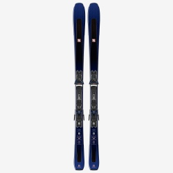 Pack de skis d'occasion Salomon E AIRA 80 Ti + fixations Z10 GW L80 blue