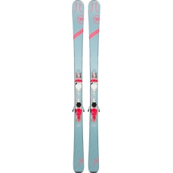 Pack of used skis Rossignol EXPERIENCE 80 CI W + bindings XPRESS W 11 B83 white coral fluo